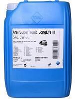Aral SuperTronic LongLife 3 SAE 5W-30 - 1x20 Liter 68,75 Kr/l
